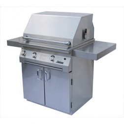 "Solaire SOL-AGBQ-30CVI-LP 30"" LP InfraVection Cart Grill"