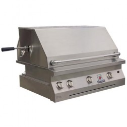 """Solaire SOL-AGBQ-36VI-NG 36"""" NG InfraVection Built-In Grill"""