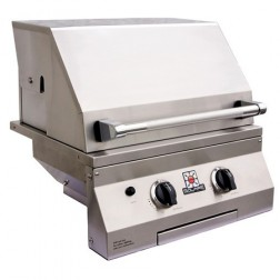 """Solaire SOL-IRBQ-21GVIXL-NG 21"""" NG Deluxe InfraVection Built-In Grill"""