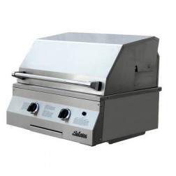 "Solaire SOL-IRBQ-27GVIXL-NG 27"" Nat-gas Deluxe InfraVection Built-In Grill"