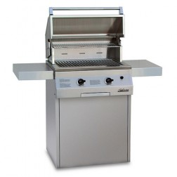 """Solaire SOL-IRBQ-27GVIXLC-LP 27"""" Propane Deluxe InfraVection Grill"""
