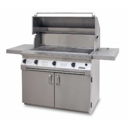 "Solaire SOL-IRBQ-42CVI-LP 42"" LP InfraVection Cart Grill"