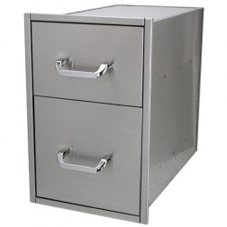 "Solaire SOL-2D14D Two 14"" X 23"" Drawer Set"
