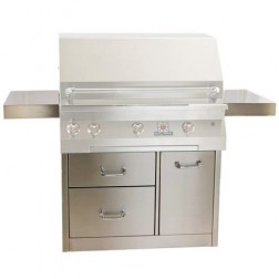 "Solaire SOL-IR-36CX Premium Cart Only for 36"" Grills"