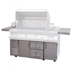 "Solaire SOL-IR-56CXA Premium Cart Only for 56"" Grills"