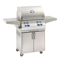 FireMagic A430s-7LAP-62 Aurora LP Cart Grill w/Single Side Burner