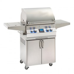 FireMagic A430s-5E1P-62 Aurora LP Cart Grill w/Single Side Burner