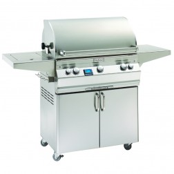 FireMagic A540s-5L1N-62 Aurora NG Cart Grill w/Single Side Burner
