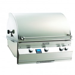 FireMagic A660i-6L1N Aurora NG  Built In Grill with Rotisserie