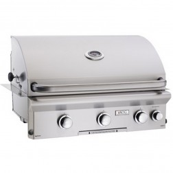 American OutDoor Grill 30NBL NG Built-in Grill w/ Rotisserie