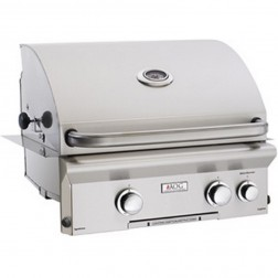 American OutDoor Grill 24NBL NG Built-in Grill w/Rear Rotisserie