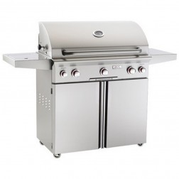 American OutDoor Grill 36NCT NG Cart Grill w/ Rotisserie & Side Burner