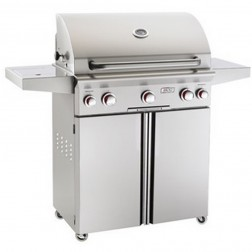American OutDoor Grill 30NCT NG Cart Grill w/ Rotisserie & Side Burner