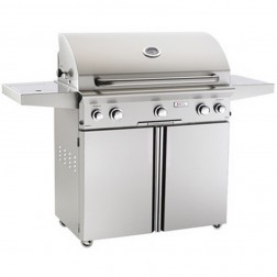 American OutDoor Grill 36NCL NG Cart Grill w/Rotisserie & Side Burners