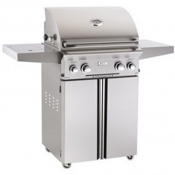 American OutDoor Grill 24PCL LP Cart Grill w/Rotisserie