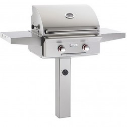 American OutDoor Grill 24NGT-00SP NG In-ground Post Grill
