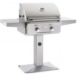 American OutDoor Grill 24NPT-00SP NG Patio Post Grill w/ Rotisserie