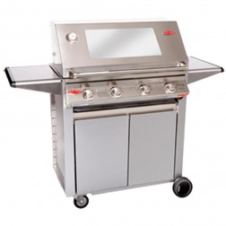 BeefEater Signature  3000S 4 Burner LP Gas Barbecue Grill w/Designer Trolley-19340US