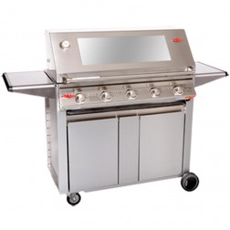 BeefEater Signature 3000S 5 Burner LP Grill w/Designer Trolley-19350US