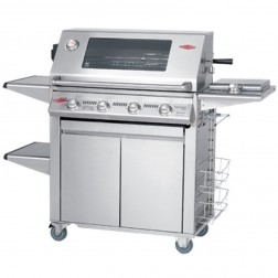 BeefEater Signature 3000S 4 Burner LP Grill w/Plus Trolley-19750US