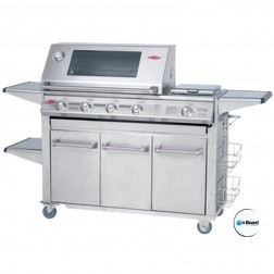 BeefEater Signature SL4000S-5 Burner LP Grill w/Premium Stainless Drawer Trolley-30050US