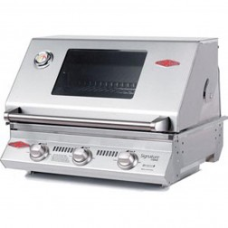 BeefEater Signature S3000SS Series-3 Burner LP Built-in Grill-12830SUS