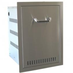 BeefEater Door / Propane Drawer Combination-Stainless Steel-24210US