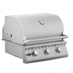 "OCI 26"" 3 Burner Non-Rotis Grill-OCI-26BQ-No Lights"