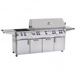 FireMagic E1060s-4LAN-51 Diamond Cart Grill w/Rotisserie