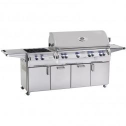 FireMagic E1060s-4LAP-51-W LP Diamond Cart Grill w/Rotisserie