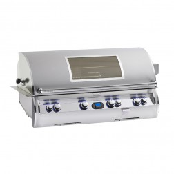 FireMagic E1060i-4E1P-W Diamond LP Built In Grill w/ Rotisserie