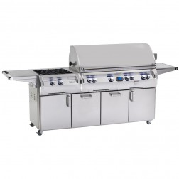 FireMagic E1060s-4E1P-51 Diamond LP Cart Grill w/Rotisserie