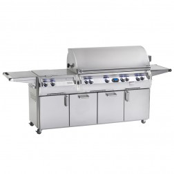 FireMagic E1060s-4L1N-62-W Diamond NG Cart Grill w/Rotisserie