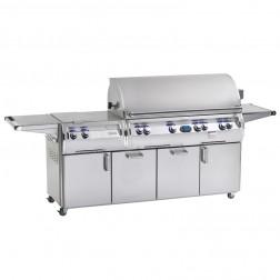 FireMagic E1060s-4L1P-51-W Diamond LP Cart Grill w/Rotisserie