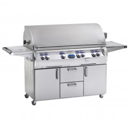 FireMagic E1060s-4E1P-62 Diamond LP Cart Grill w/Rotisserie
