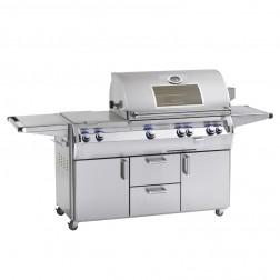 FireMagic E790s-4LAP-62-W Echelon LP Cart Grill w/Rotisserie
