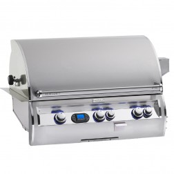 FireMagic E790i-4L1N Diamond NG Built In Grill w/Rotisserie