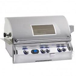 FireMagic E790i-4E1N-W  Diamond NG Built In Grill w/Rotisserie