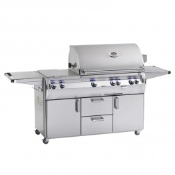 FireMagic E790s-4LAP-71 Diamond LP Cart Grill w/Rotisserie