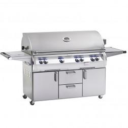 FireMagic E1060s-4LAP-62-W Echelon LP Cart Grill w/Rotisserie