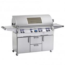 FireMagic E1060s-4EAP-62-W Echelon LP Cart Grill w/Rotisserie