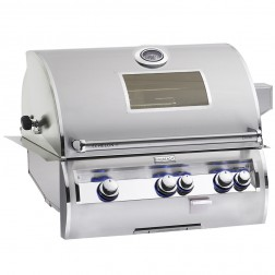 FireMagic E660i-4EAN-W Diamond NG Built In Grill w/Rotisserie