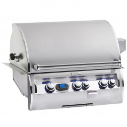 FireMagic E660i-4L1N-W Diamond LP Built In Grill w/Rotisserie