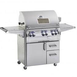 FireMagic E660s-4LAP-62-W Echelon LP Cart Grill w/Rotisserie