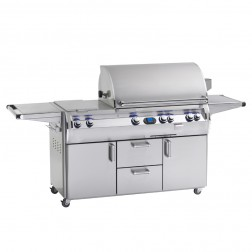 FireMagic E790s-4E1P-71 Diamond LP Cart Grill w/Rotisserie