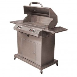 "Electri-Chef 4400 Series 32"" Closed Base Barbecue Grill w/Dual Temp Control"