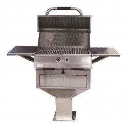 "Electri-Chef 4400 Series 24"" Pedestal Base Barbecue Grill"