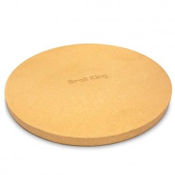 "Broil King Pizza Stone - 15"", Thick-69814"