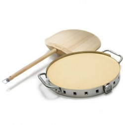 Broil King Professional Pizza Stone With Ss Support-69815