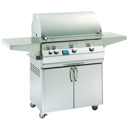 FireMagic A540s-5E1N-61 Aurora NG Cart Grill w/Single Side Burner